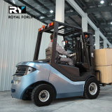 Königlicher Dieselgabelstapler in der guten Qualität mit der Kapazität 2000kg
