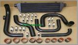 Negro Auto Intercooler tubo de refrigeración para Honda Serie B (B16 B18 B20)