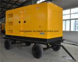 generatore del diesel di 250kVA Cummins Silent&Trailer