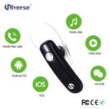 Mini microfone estereofónico super do fone de ouvido dos auriculares de Bluetooth para o iPhone 6