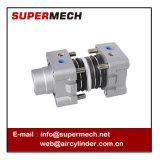 DNC Uitrusting Festo ISO 15552 de StandaardUitrustingen van de Cilinder van de Zuiger Pneumatische