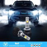 2016년 LED 자동차 & 기관자전차 빛 9006 차 LED 헤드라이트 자동 맨 위 램프 자주색 파란 색깔 헤드라이트