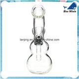 Verbogener Stutzen-GlasHuka-Wasser-Rohr