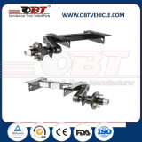 Obt Light Duty Rubber Torsion Axle with Mechanical Drum Brake