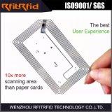 scheda di carta passiva di 13.56MHz Pritable NFC per il commercio