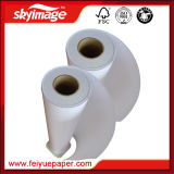 carta da trasporto termico di antiarricciatur'asciutta veloce di larghezza di 90GSM 1600mm per la stampatrice di sublimazione