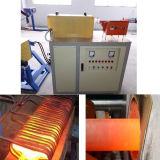 Equipamento de aquecimento da indução da freqüência média para o forjamento 120kw do metal