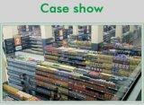 食料雑貨品店の小売店のゴンドラのスーパーマーケットの棚付け