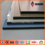 Comitato di parete di alluminio poco costoso del rivestimento dell'argento esterno della parete di Ideabond (AF-408)