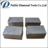 Les tailles importantes de découpage de diamant de machines-outils scie le segment de lame