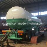Preço Q345r 24t 56cube das vendas diretas de Fatory o bom mede o reboque do LPG
