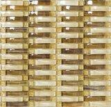 Mosaico y piedra de cristal de doblez para la frontera, visualización, taller (M855037)