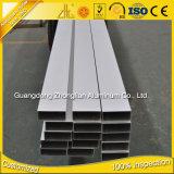 Tubo di alluminio dell'alluminio del tubo di Retangular anodizzato 6063 T5