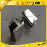Perfil de alumínio Polished personalizado profissional para o alumínio do banheiro