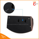 Lumière solaire extérieure d'escalier de garantie de 8 DEL avec le détecteur de mouvement