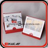 Календар стола изготовленный на заказ коробки офсетной печати канцелярские товар упаковывая
