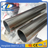 Tubo d'acciaio saldato inossidabile 304L di ASTM 304 per il corrimano