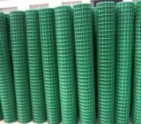 PVC에 의하여 입히는 용접된 철망사