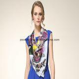 90*90cm Qualitätsneuester Schal-Art-Digital-Drucken-Seide-Schal