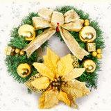 Decoração do recém-casado Decoração de flores artificiais de flores de Natal