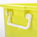 Boîte-cadeau en plastique transparente de conteneur de nourriture de cadre de mémoire de vente de produits en plastique chauds de ménage avec les traitements (20L)
