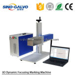 Портативная динамическая машина Sg2206-3D маркировки лазера металла 3D