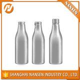 Bottiglia da birra di alluminio vuota nera 330ml 500ml con il disegno attraente