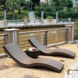 Напольный стул салона Sun ротанга Lounger пляжа плавательного бассеина мебели отдыха сада