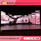 Afficheur LED P6.25 d'intérieur avec le Module d'aluminium de location de 500mmx500mm