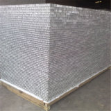 Le nid d'abeilles en aluminium a augmenté stratifié avec la feuille en aluminium (HR384)