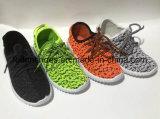 新しい到着の子供のキャンバスの注入の靴、良質(FFDL1112-02)のスポーツの靴