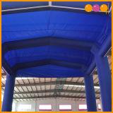 خيمة خارجيّ زرقاء قابل للنفخ يعلن خيمة لأنّ حادث ([أق5210])