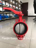 Válvula de borboleta da bolacha com ferro de molde/Iron/Ss Ductile