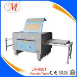 Máquina de estaca dobro do laser da eficiência com plataforma Exchangeable nivelada (JM-960T)