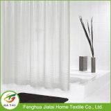 Cerniera bianca personalizzata PEVA Hookless Curtain Shower Shower
