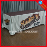 Suporte de poliéster personalizado Trade Show Promotion 8FT Table Cover