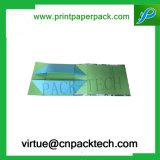 Contenitore impaccante del cartone di regalo di lusso su ordinazione del documento con il contenitore di monili della stampa di marchio