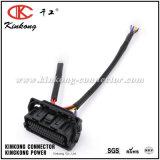 Harness de cableado de encargo de la coleta del conector femenino de la asamblea de cable de Kinkong