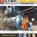 Gefäß-Öl-gasbeheiztwarmwasserspeicher des Feuer-1-10ton/Hr in China, Gas-Warmwasserboiler