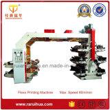 Máquina flexográfica de la impresión en color de Cmyk del rodillo de cerámica