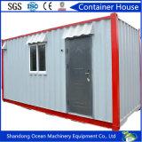 Casa flexible favorable al medio ambiente del envase prefabricada por la estructura de acero para vivir
