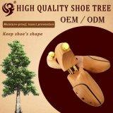 Ensanchador de madera de lujo del zapato de la alta calidad, árbol del zapato