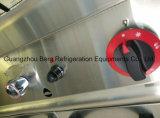 Baño maría comercial derecho libre del gas del acero inoxidable con la cabina