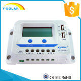 Énergie solaire d'Epever 10A 20A 12V/24V/contrôleur Dual-USB/2.4A Vs1024au de panneau