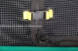 Jardín del juguete el 12FT de los cabritos que salta el trampolín al aire libre barato con la red de seguridad