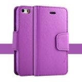 iPhone 6のための携帯電話のアクセサリのLetherの携帯電話カバー
