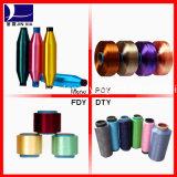 filé de filament de polyester teint par dopant de 75D36f DTY