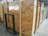 Красивейшие естественные каменные золотистые слябы Феникс мраморный для Countertop/стены Clading/строительного материала