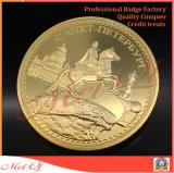 昇進のギフトのための金によってめっきされる使用のカスタム金属の硬貨