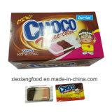 Choco tricolor del chocolate con tres sabores